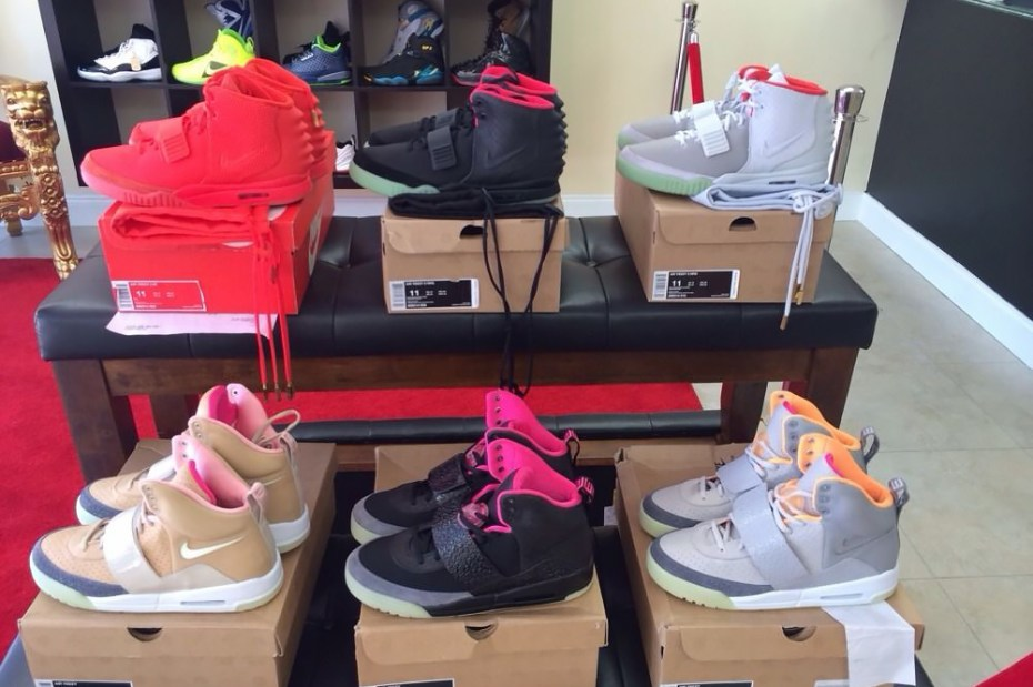 Image of You Can Buy the Entire Nike Air Yeezy Collection for $100K USD