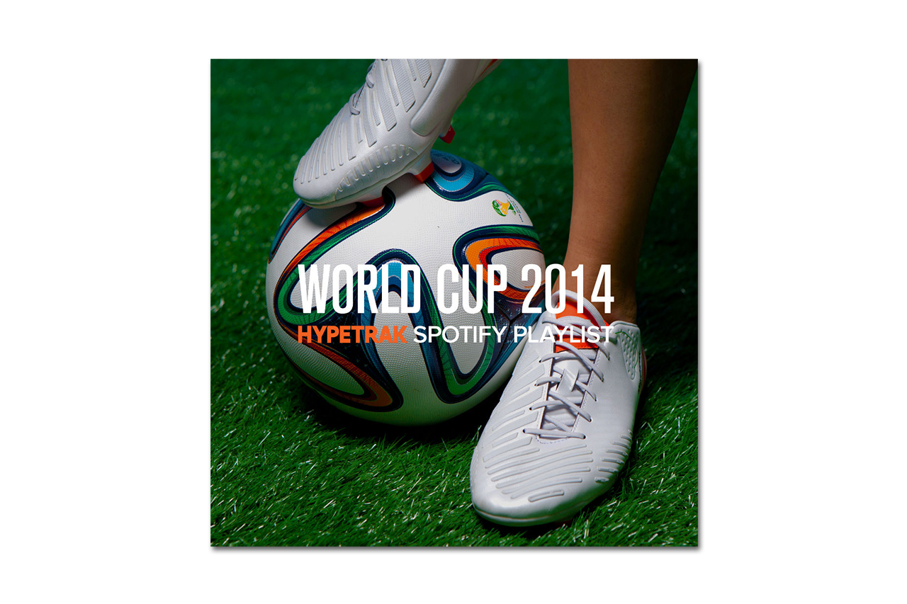 Image of 2014 World Cup: HYPETRAK Spotify Playlist