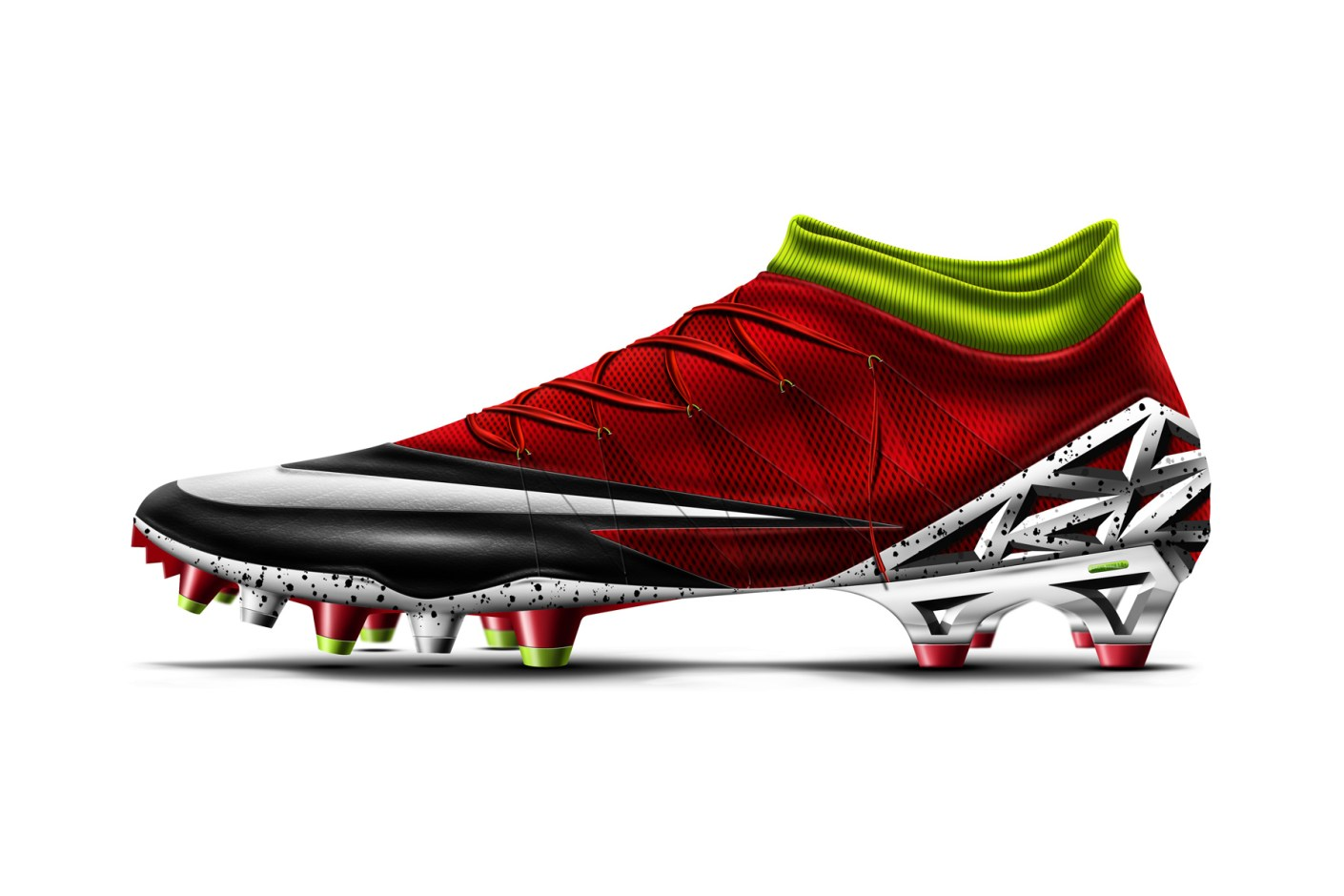 Image of Booting Around: Thibaut Courtois' Nike The Wall Boot