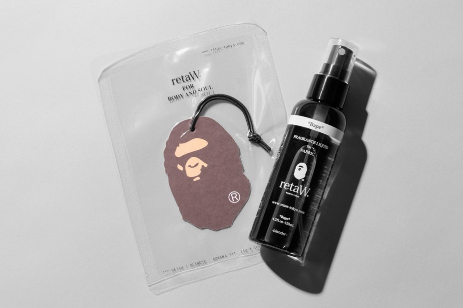 "Image of A Bathing Ape x retaW ""Bape"" Fragrance Collection"