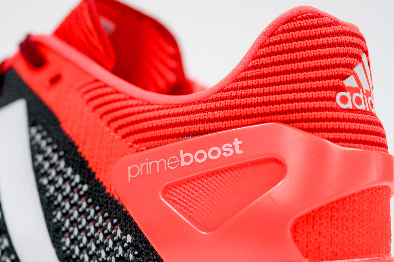 Image of A Closer Look at the adidas adizero Prime BOOST Black/Red
