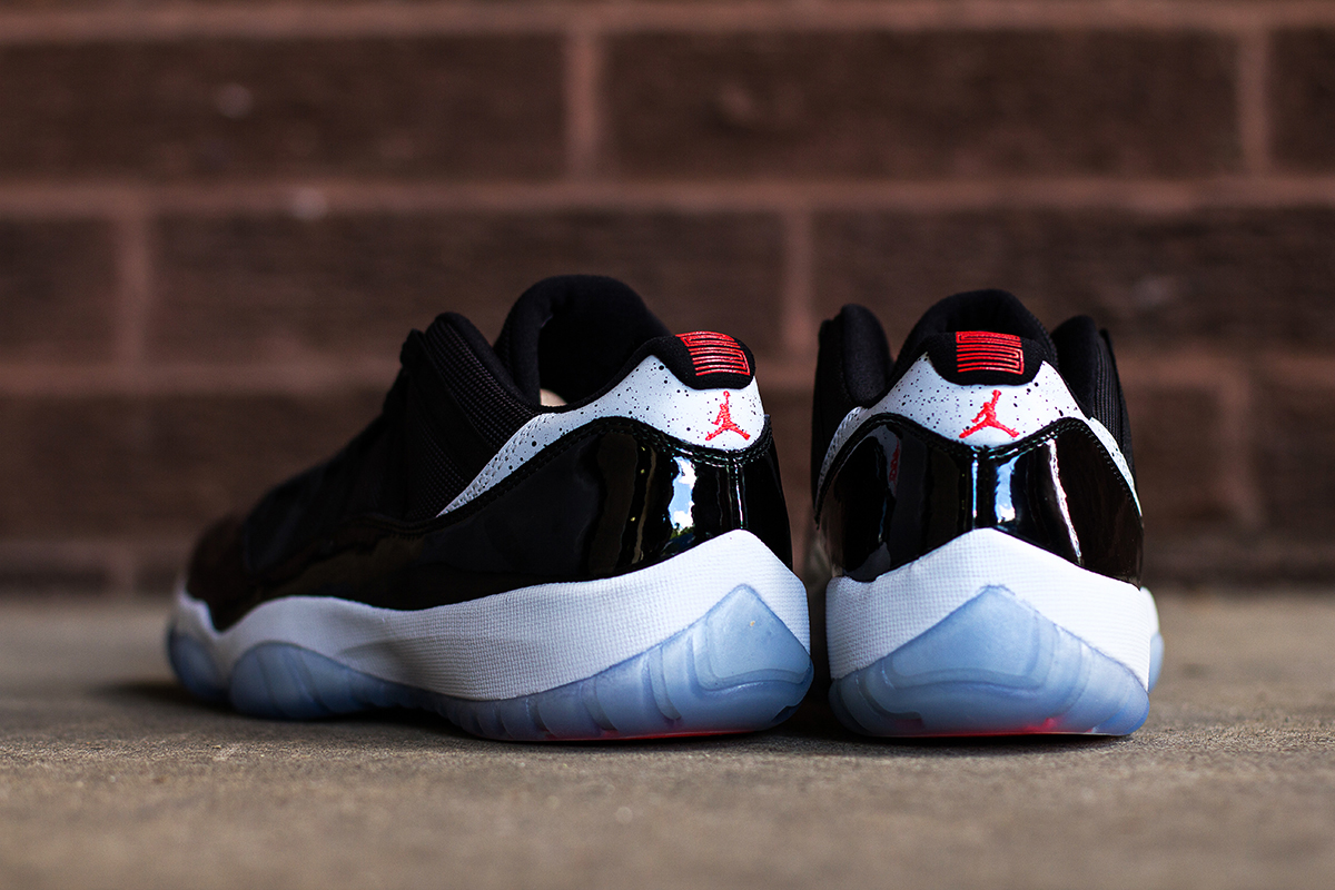 "Image of A Closer Look at the Air Jordan 11 Retro Low ""Infrared 23"""