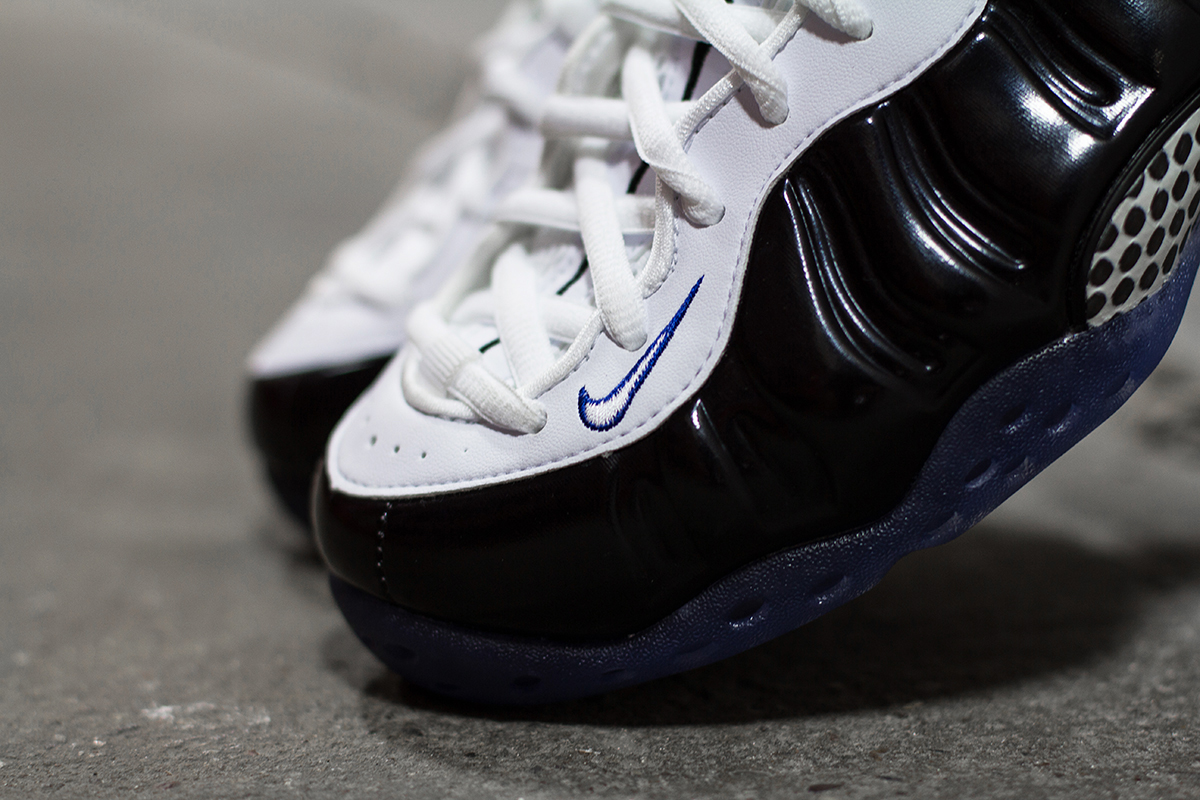 Image of A Closer Look at the Nike Air Foamposite One Black/White