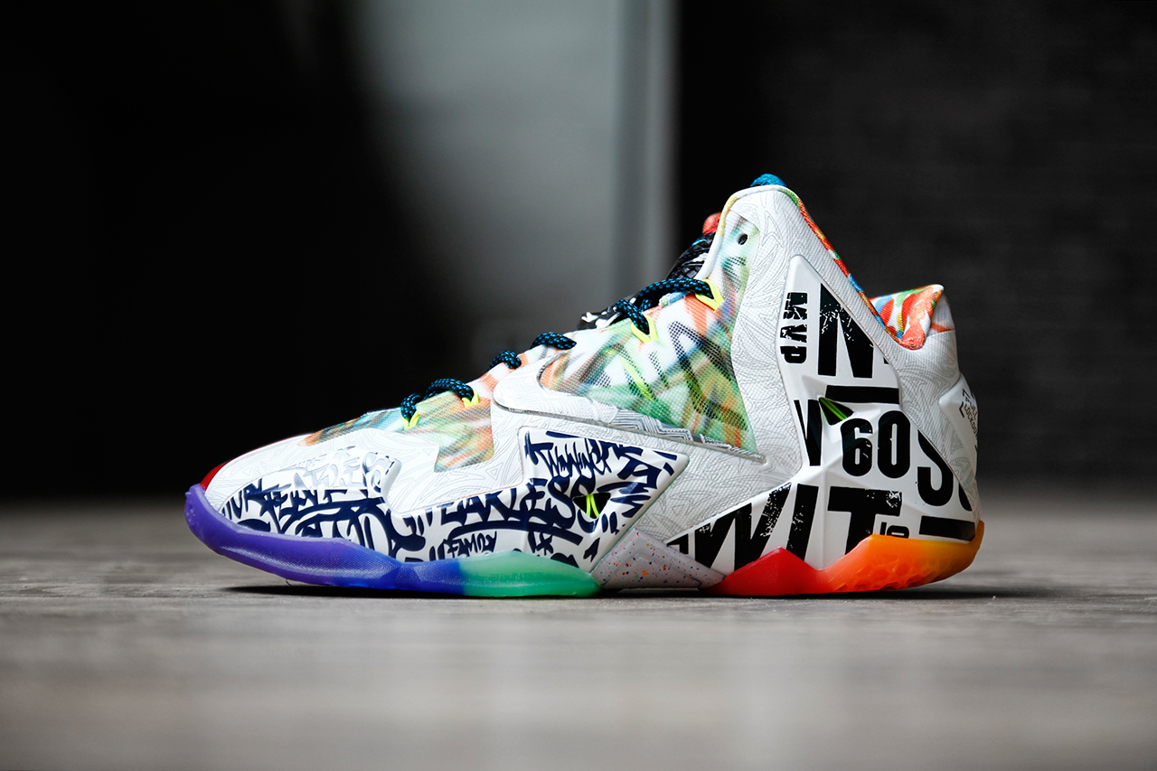 "Image of A Closer Look at the Nike LeBron 11 ""What the LeBron"""