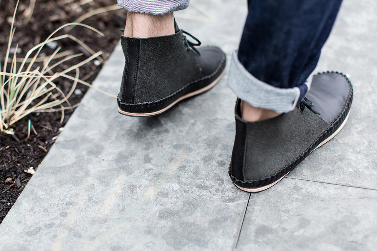 Image of A Closer Look at the wings+horns x Ken Diamond Handmade Moccasin