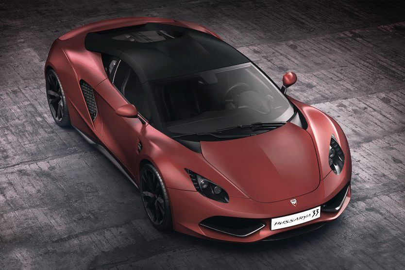 Image of A First Look at the 2015 Arrinera Hussarya
