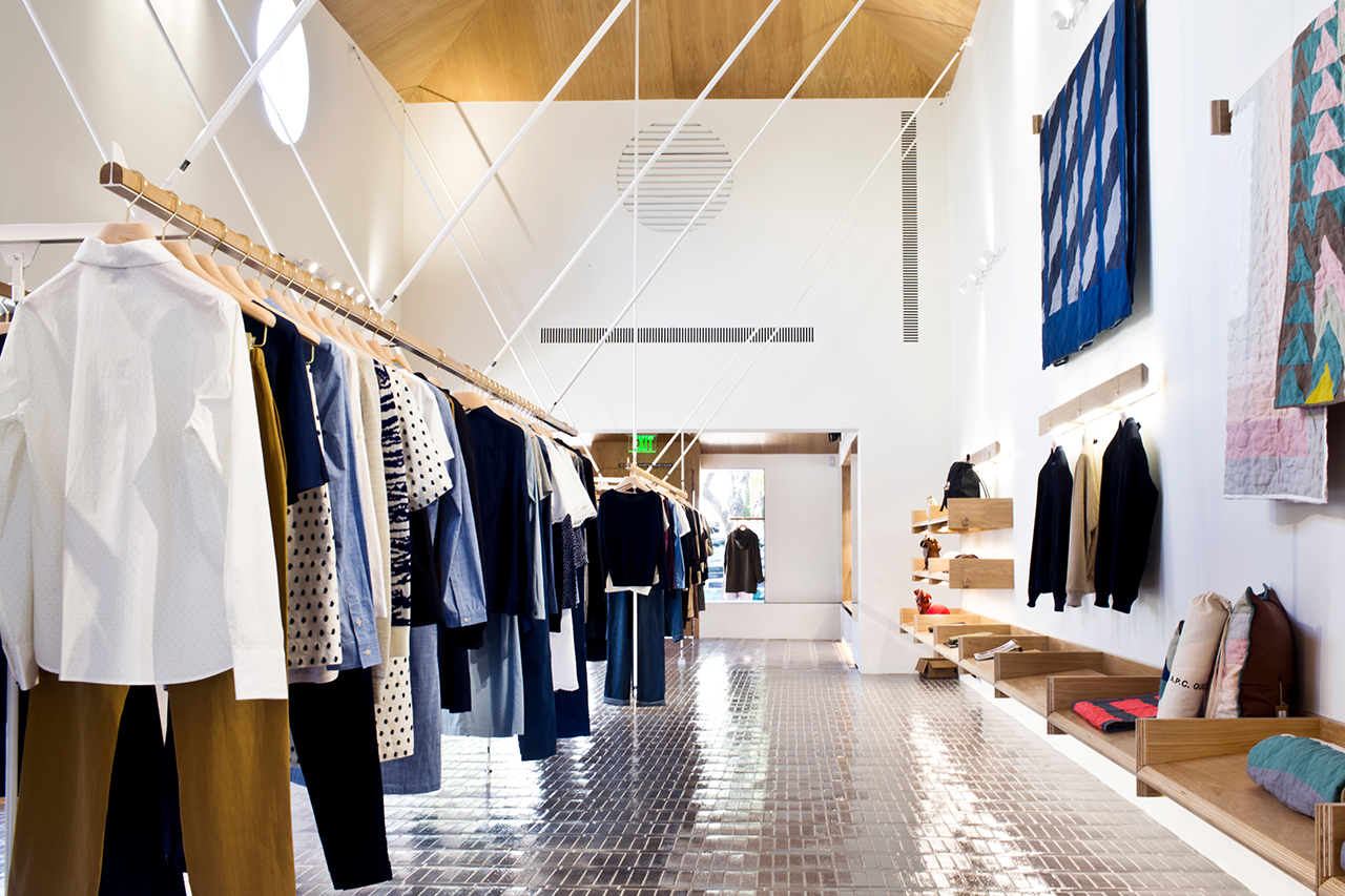 Image of A.P.C. Opens Los Angeles Flagship on Melrose Avenue