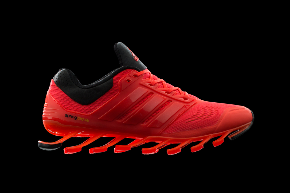 Image of adidas Debuts the Springblade Drive
