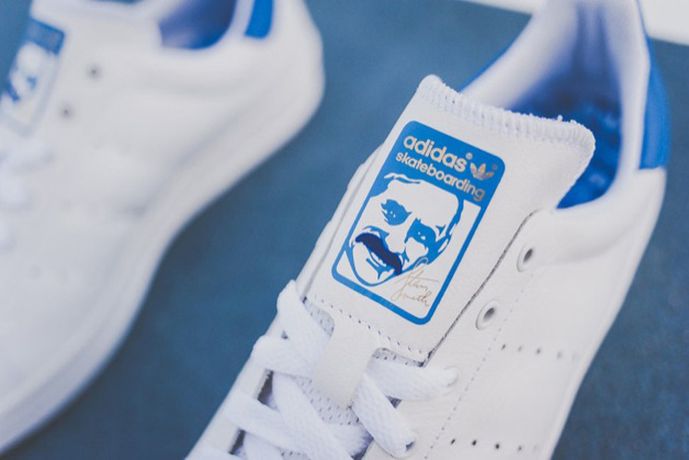 Image of adidas Skateboarding 2014 Summer Stan Smith Vulc White/Royal