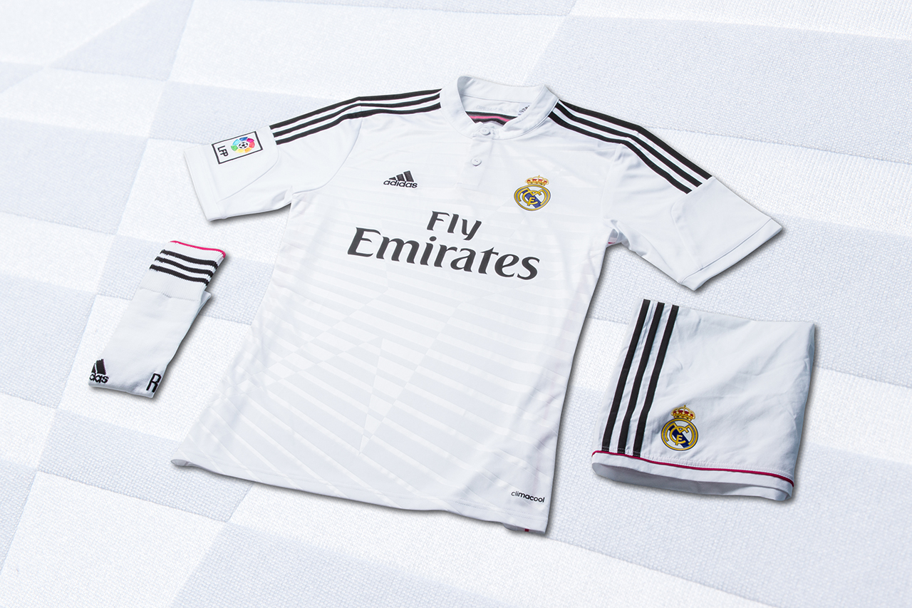 Image of adidas Unveils Real Madrid's New 2014/15 Kits