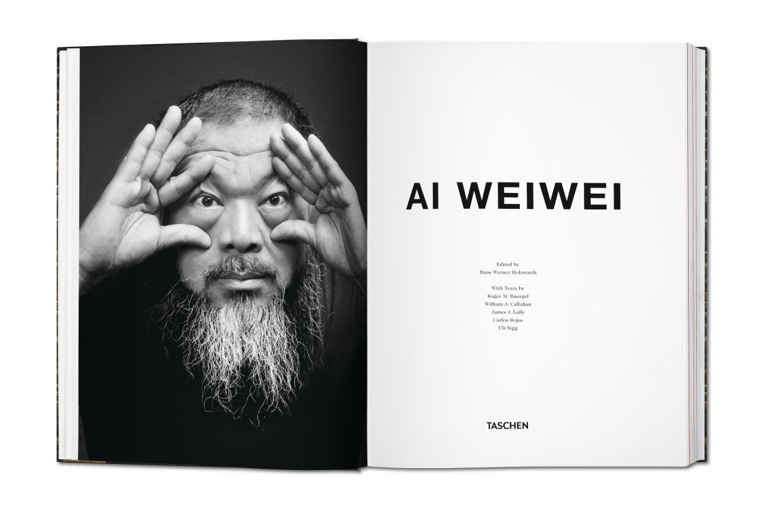 Image of Ai Weiwei Monograph by TASCHEN
