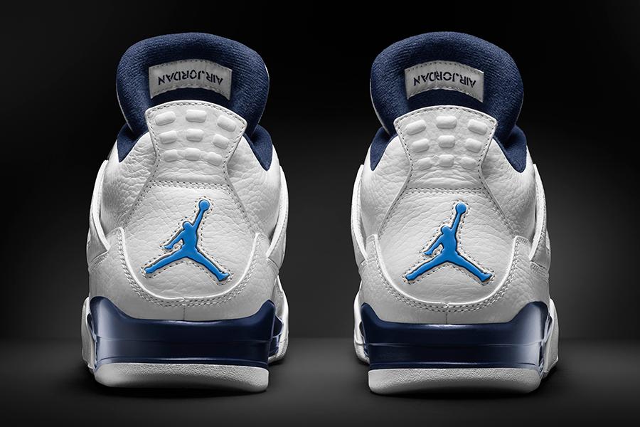 """Image of Air Jordan 4 Retro """"Columbia"""" for 2015"""