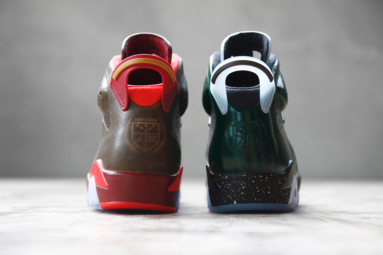 "Image of Air Jordan 6 Retro ""Championship Cigar and Champagne"" Pack"