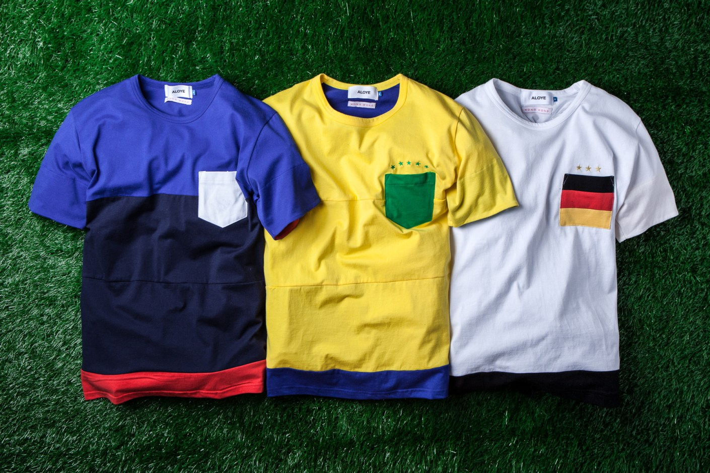 Image of ALOYE x WONG WONG 2014 Brasil Collection