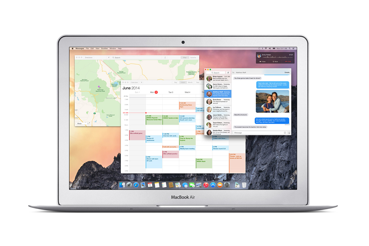 Image of Apple Introduces OS X Yosemite