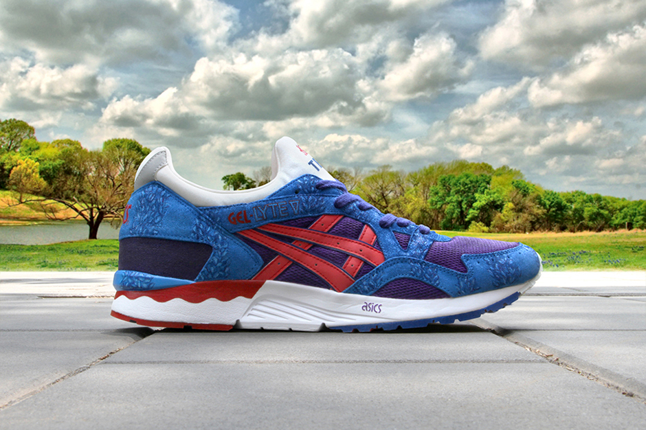 "Image of ASICS Gel Lyte V ""From Beijing to Texas"" Customs by Zhijun Wang"