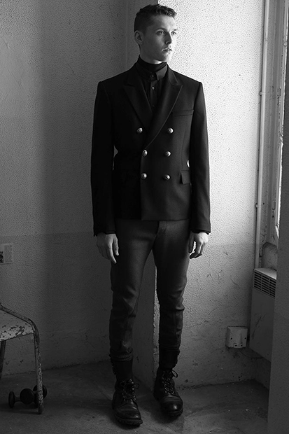 Image of Balmain 2014 Fall/Winter Lookbook