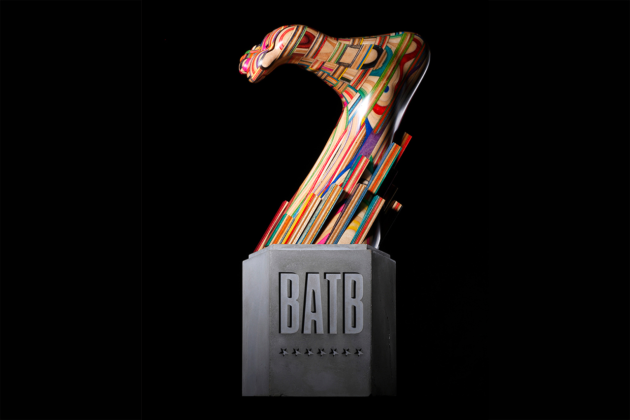 Image of Battle At The Berrics 7 Trophy Designed by Haroshi