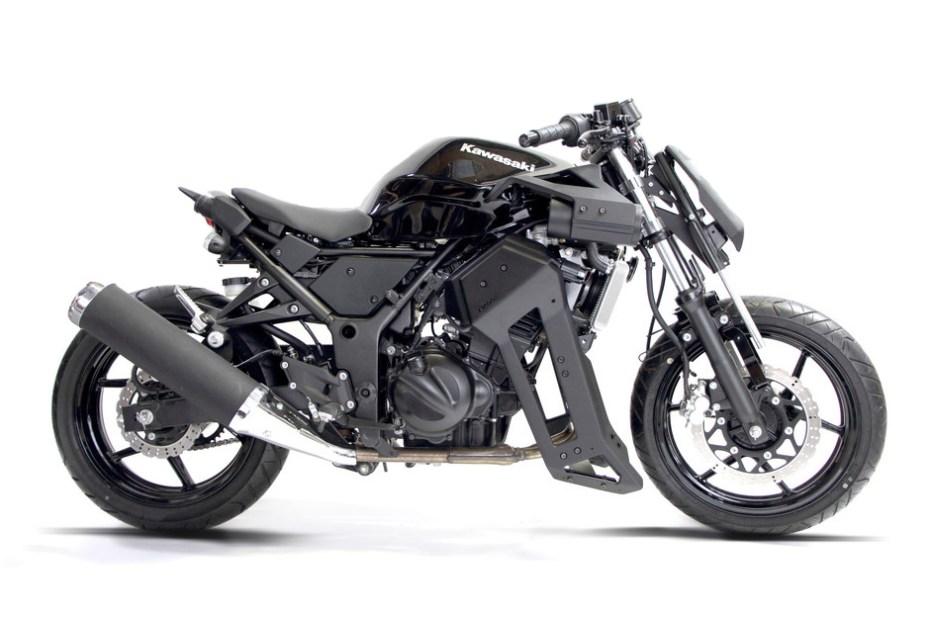 Image of Brasse 31BLK Kawasaki Ninja Mod Kit