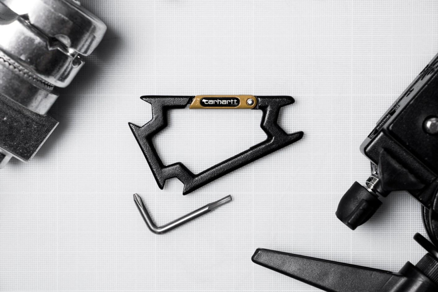 Image of Carhartt WIP x Sk8ology Skateboard Tool Carabiner