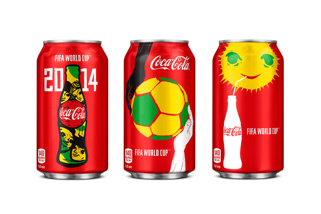 Image of Check Out the New Coca-Cola Cans for the World Cup
