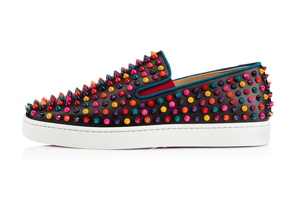 Image of Christian Louboutin Roller-Boat Spikes