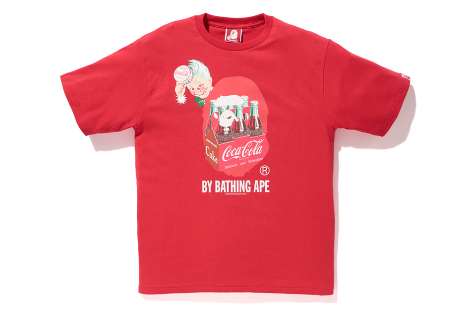 Image of Coca-Cola x A Bathing Ape 2014 Capsule Collection