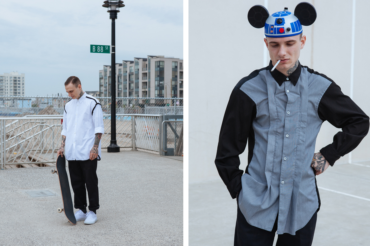 Image of COMME des GARÇONS SHIRT 2014 Fall/Winter Editorial by Visual Tales Magazine