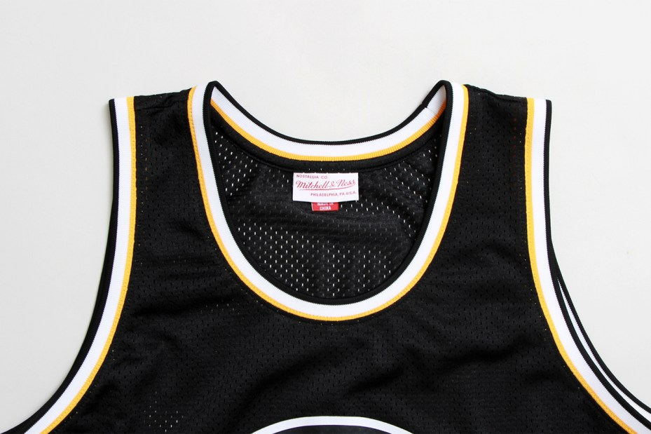 Image of Concepts x Mitchell & Ness Boston Bruins Basketball Jersey