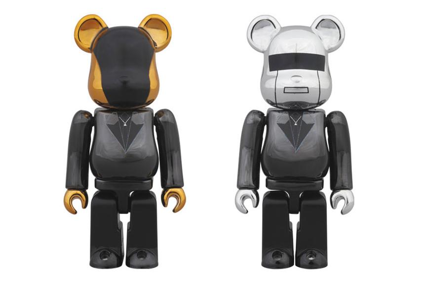 "Image of Daft Punk x Medicom Toy ""Random Access Memories"" Bearbricks"