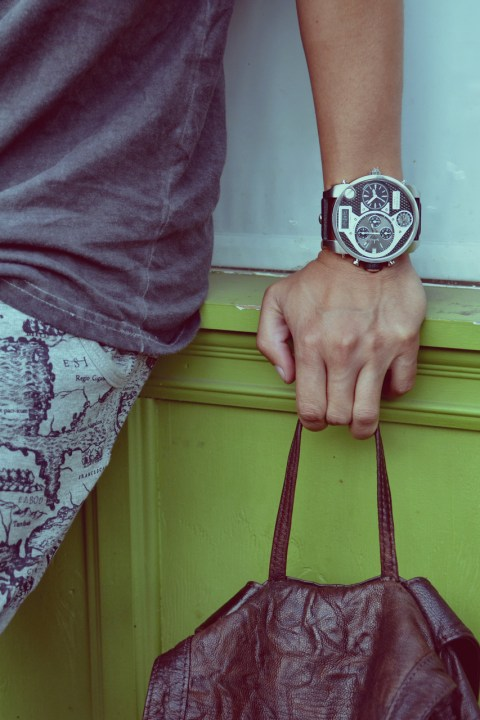 Image of Diesel Watches Keeps Time with Dapper Lou and Adam Gallagher