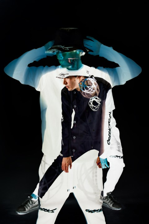 "Image of Futura x Crooks & Castles ""LEWDS"" Collection Lookbook"