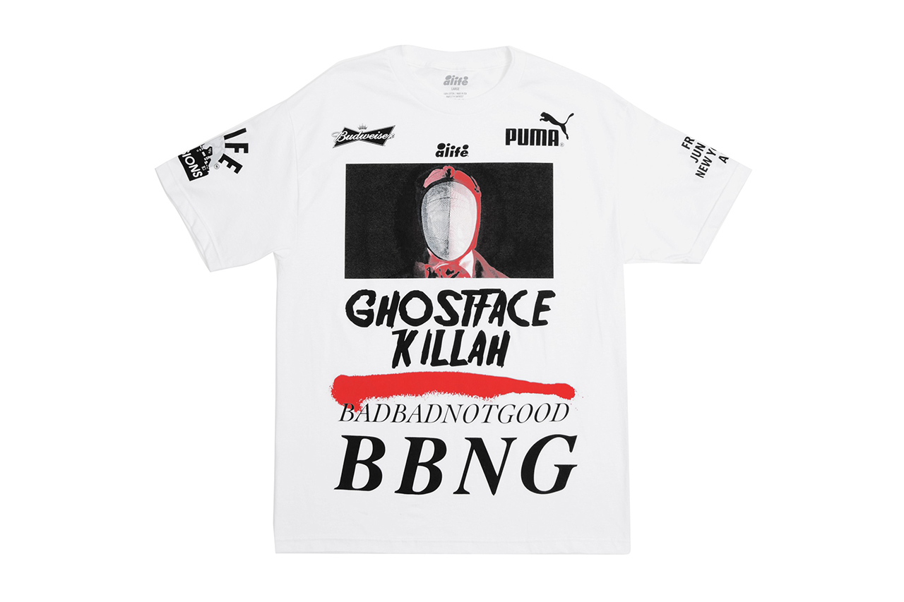 Image of Ghostface Killah & BADBADNOTGOOD x Alife 2014 Summer T-Shirt