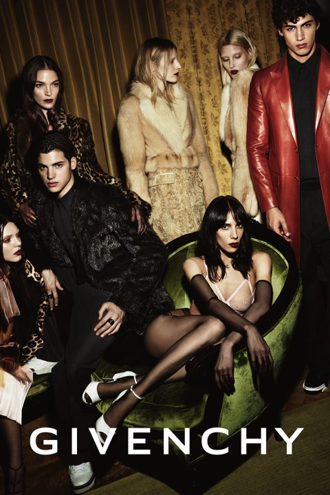 Image of Givenchy 2014 Fall/Winter Campaign
