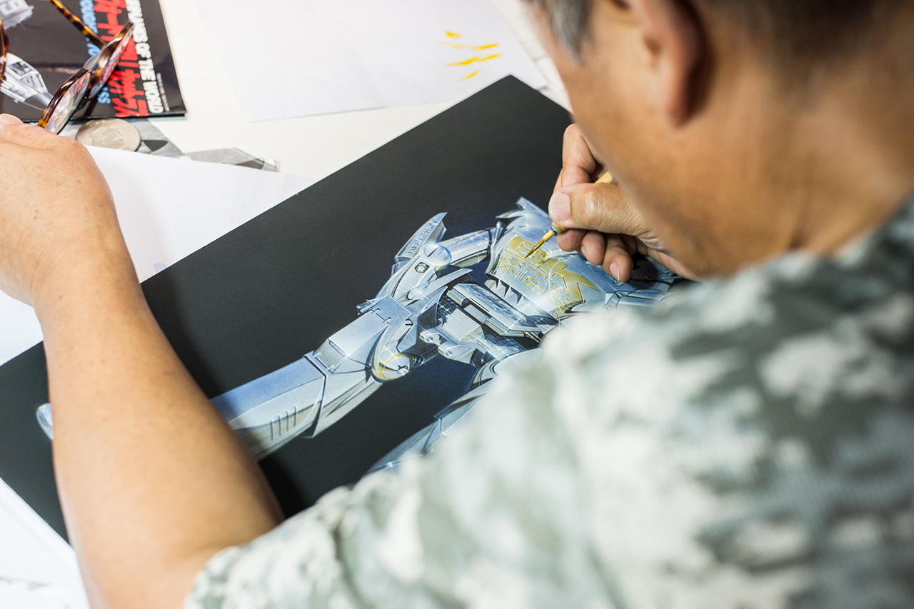 Image of Hajime Sorayama: British Knights, Art and The Future
