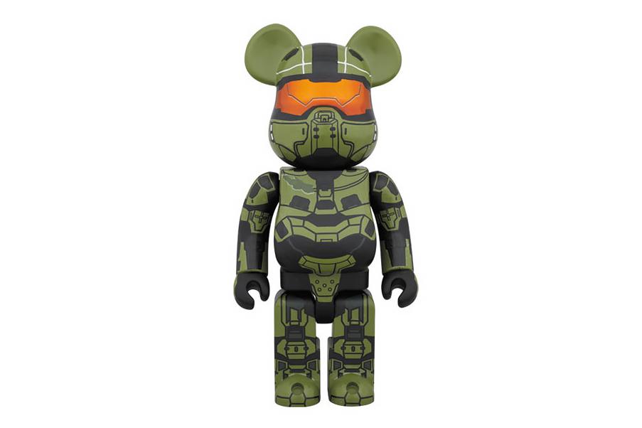 Image of Halo x Medicom Toy 400% Master Chief Bearbrick