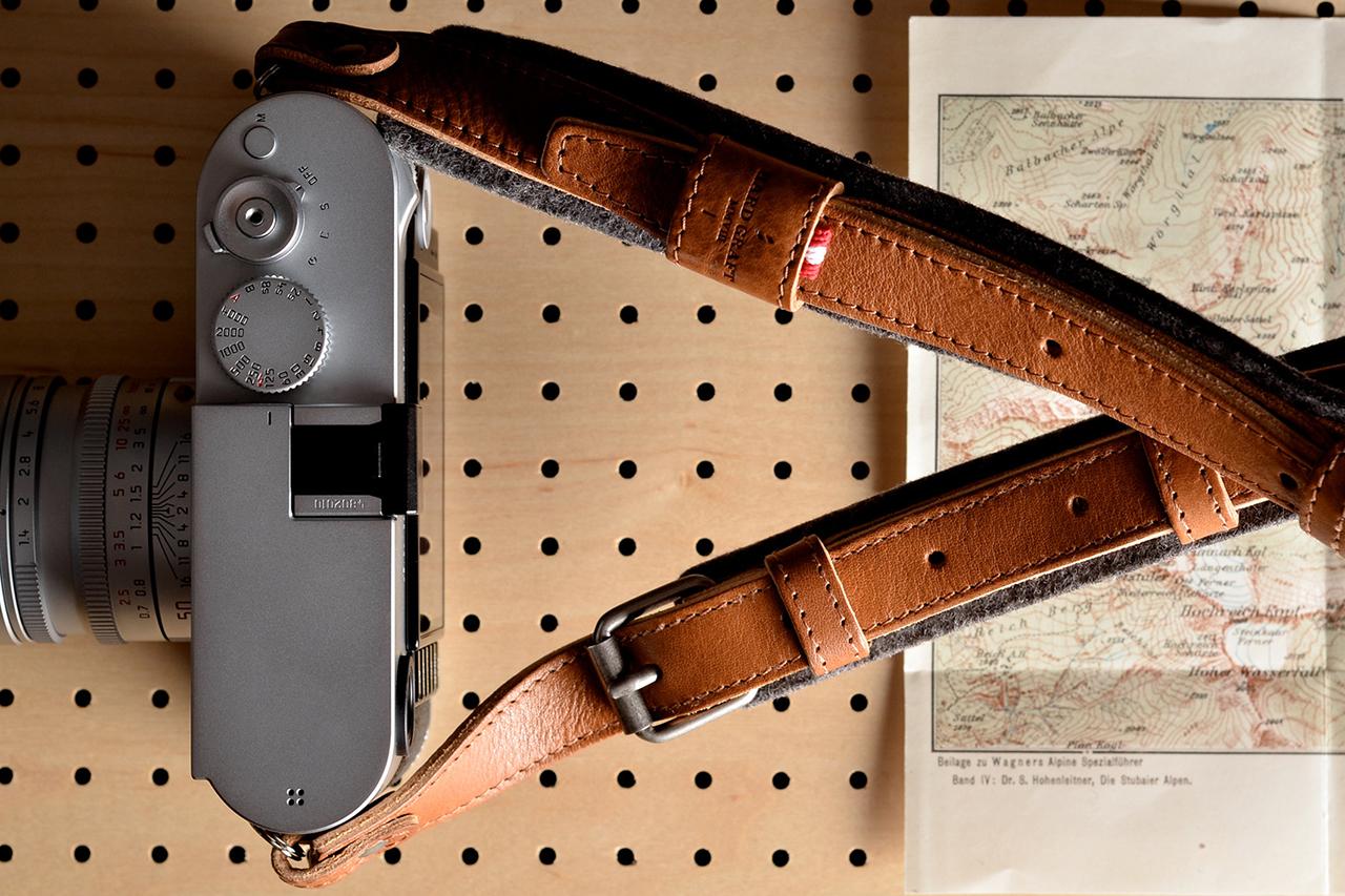 Image of hard graft Re-Process Camera Strap