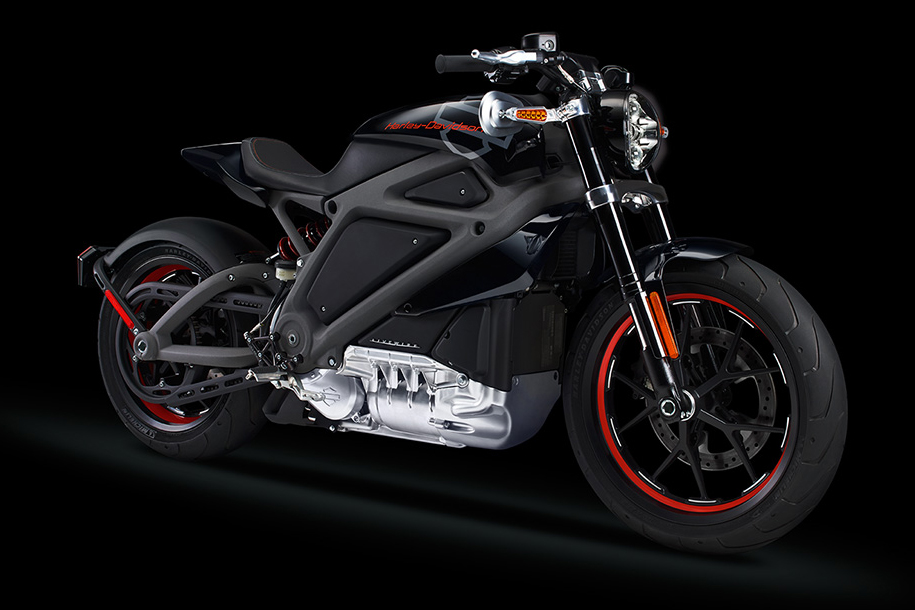 Image of Harley-Davidson Unveils its First Electric Motorcycle