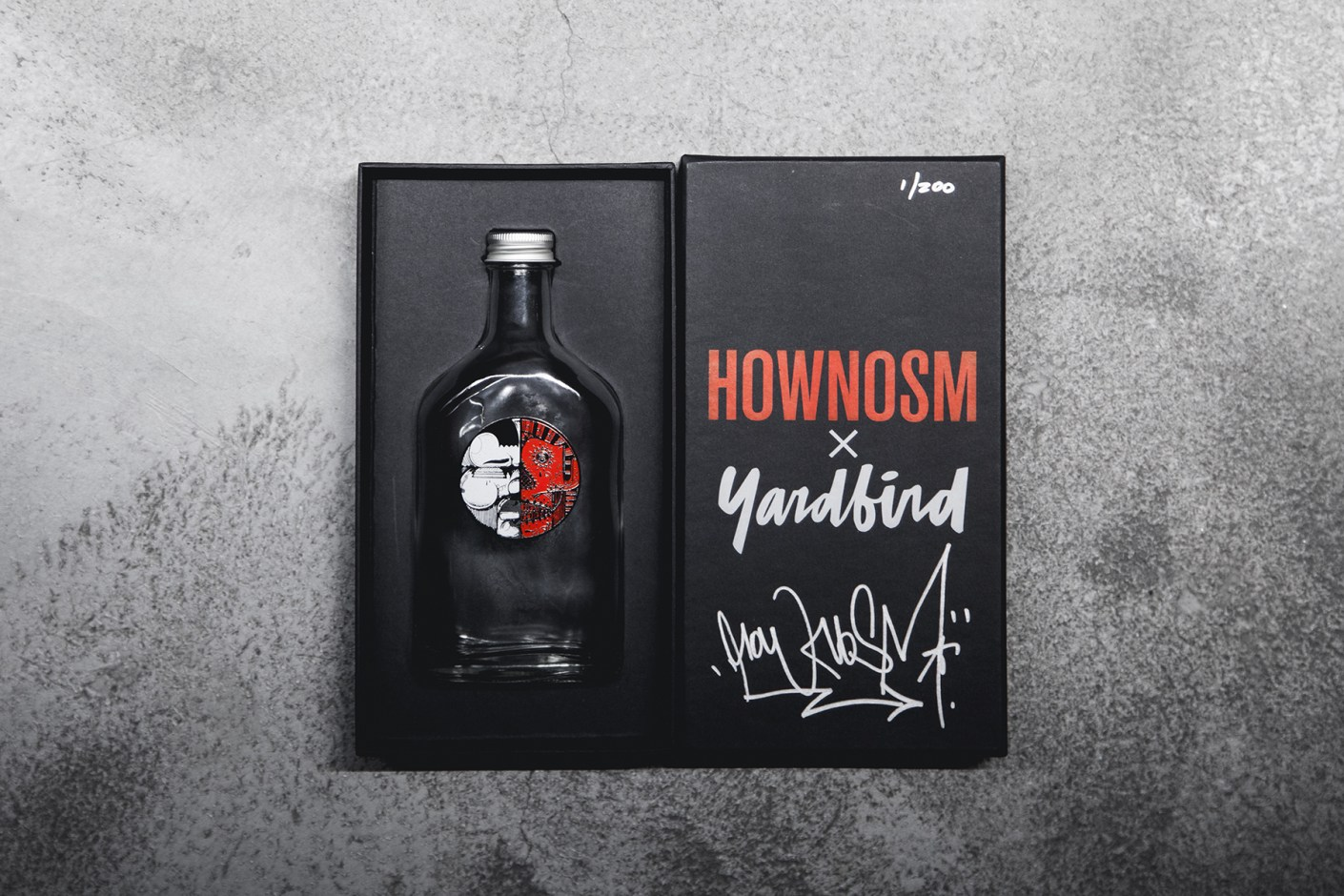 Image of How and Nosm x Yardbird Limited Edition Art Bottle