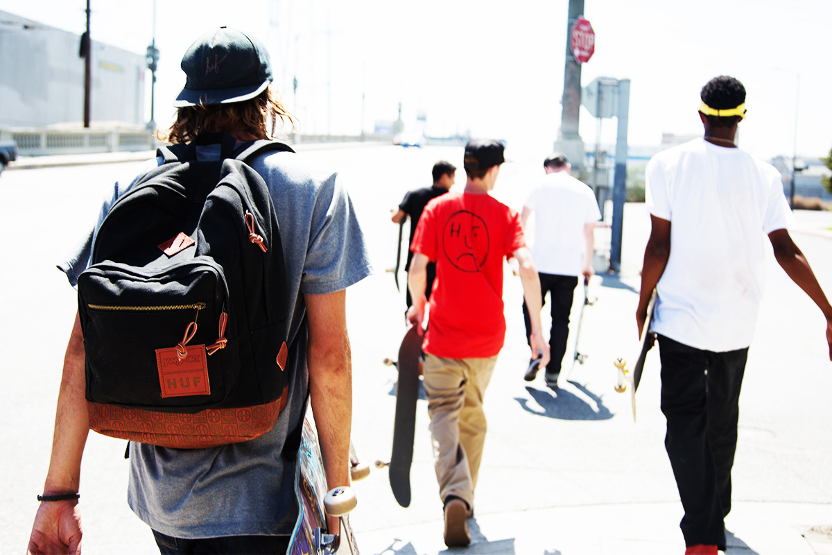 Image of HUF x Red Wing x JanSport Right Pack Backpack