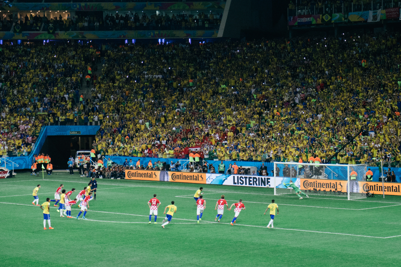 Image of All Eyes on Brazil: Scenes from the Opening Days of the 2014 World Cup