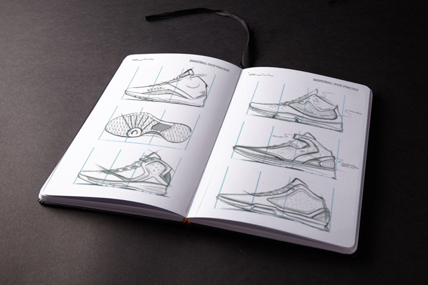 Image of IDRAW SHOES Sketchbook