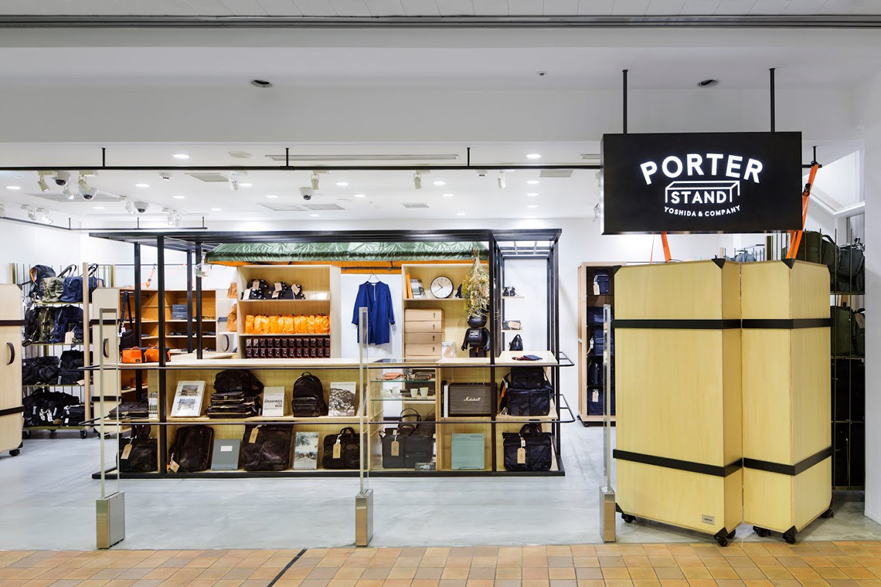 Image of Inside PORTER STAND in Tokyo