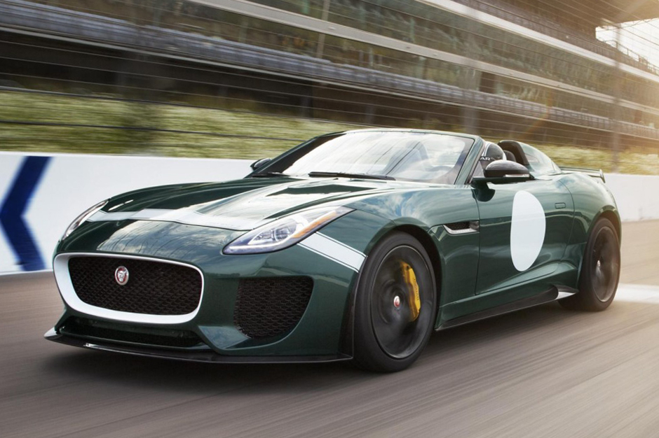 Image of Jaguar F-Type Project 7