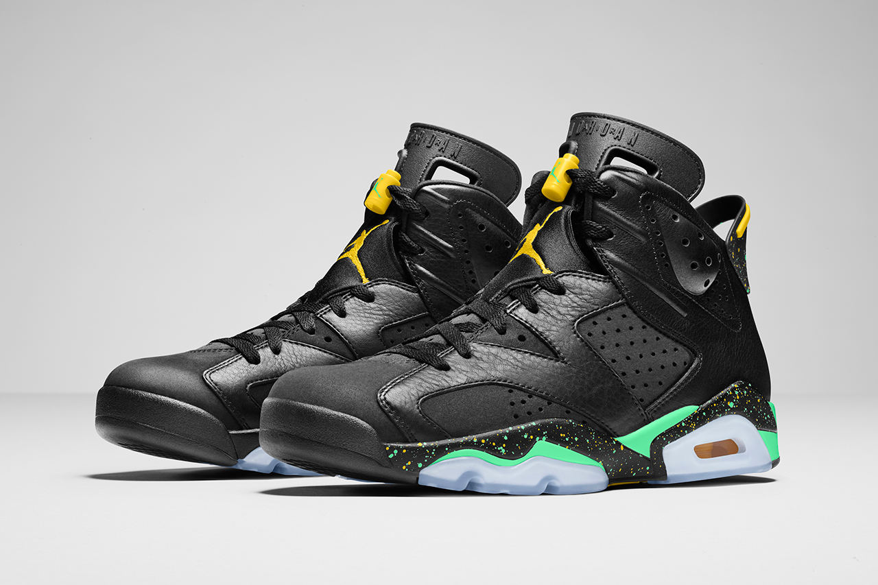 """Image of Jordan Brand """"Brazil"""" Pack"""