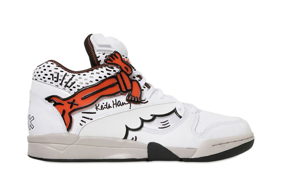 "Image of Keith Haring x Reebok ""Crack is Wack"" Pack"