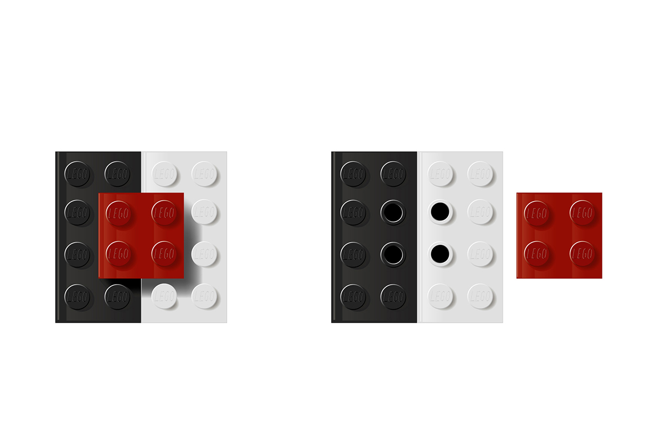 Image of LEGO Salt 'n' Pepper Shaker