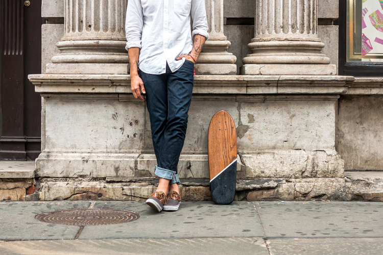 "Image of Lumber Juan x Salemtown Board Co. ""RESURRECTION"" Reclaimed Oak Cruiser"