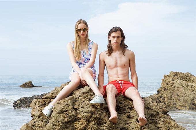 "Image of Maison Kitsuné 2014 Summer ""Surf Club"" Capsule Collection"