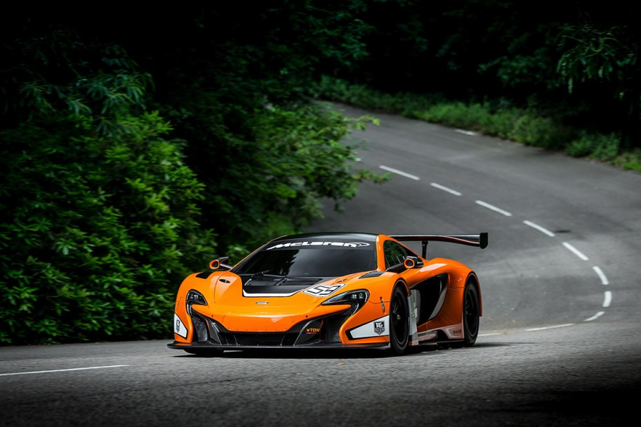 Image of McLaren Debuts its Track-Ready 650S GT3